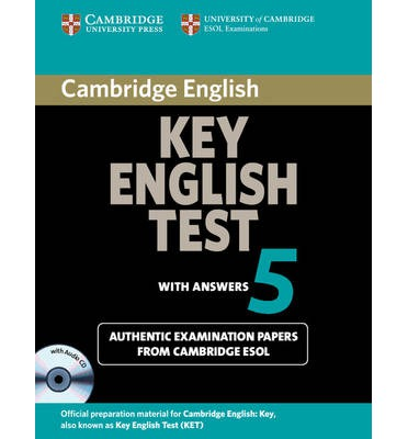 Cambridge Key English Test 5 Self-study Pack (Student's Book with answers and Audio CD) pass cambridge bec higher self study practice tests with key cd