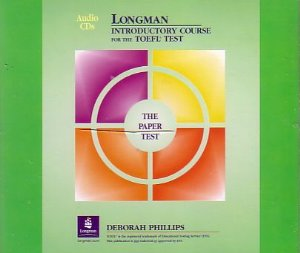 Longman Introductory Course for the TOEFL Test The Paper Test Audio CDs toefl ibt120分词汇(附光盘)