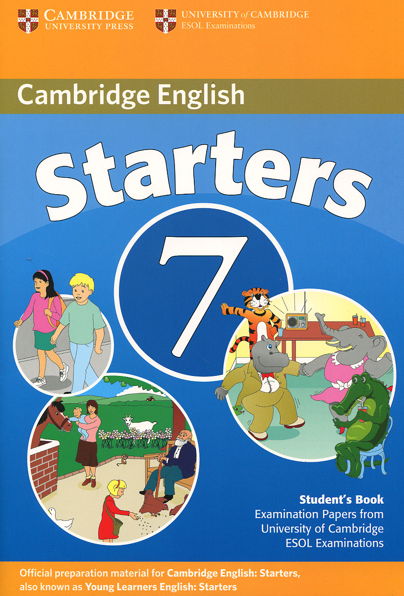 Cambridge English 7: Starters: Student's Book starters 5 answer booklet