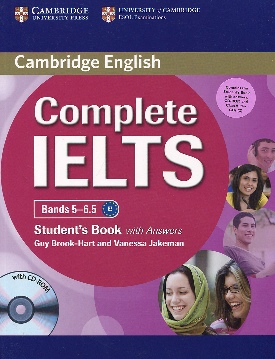 Complete IELTS: Bands 5-6.5: Student's Book With Answers (+ CD-ROM и 3 CD) complete advanced student s book with answers cd rom