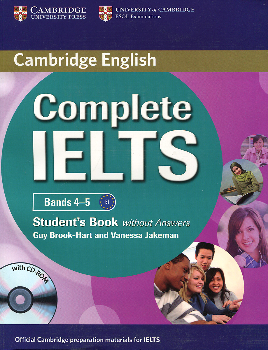 Complete IELTS: Bands 4-5: Student's Book without answers (+ CD-ROM) complete ielts bands 6 5 7 5 student s book with answers 2 cd cd rom
