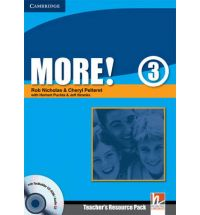 More! Level 3 Teacher's Resource Pack with Testbuilder CD-ROM