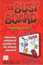 Busy Board Level 1 Interactive Whiteboard CD-ROM blue fins starter level cd rom