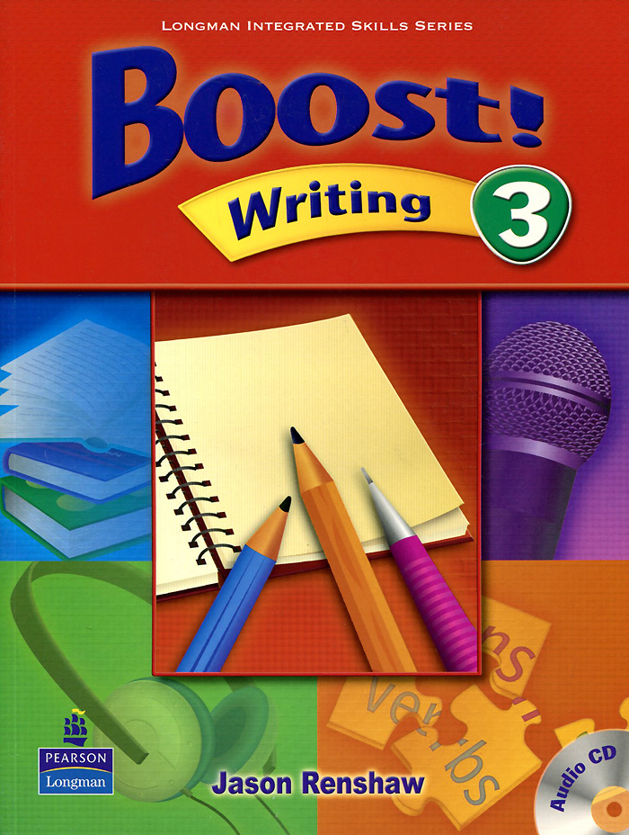 Boost! Writing: Level 3 (+ CD) sega