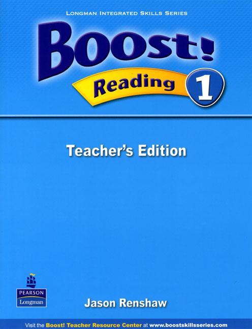 Boost! Level 1 Reading Teacher's book  недорого