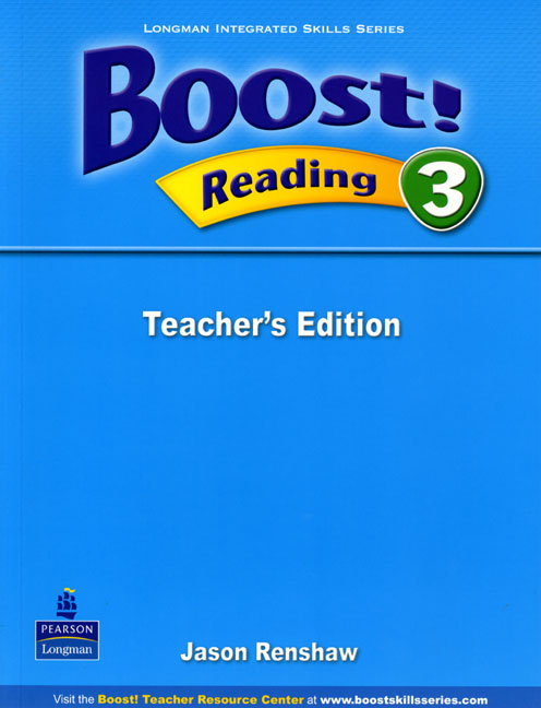 Boost! Level 3 Reading Teacher's book  недорого