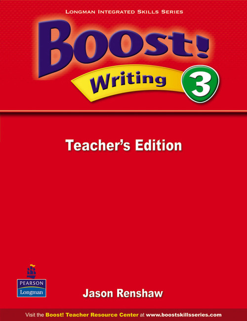 Boost! Level 3 Writing Teacher's book  недорого
