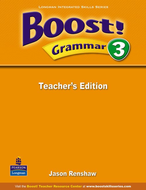 Boost! Level 3 Grammar Teacher's book super grammar practice book level 3