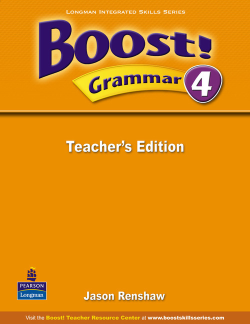Boost! Level 4 Grammar Teacher's book my grammar lab level advanced