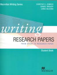 Macmillan Writing Series-Writing Research Papers Student's Book