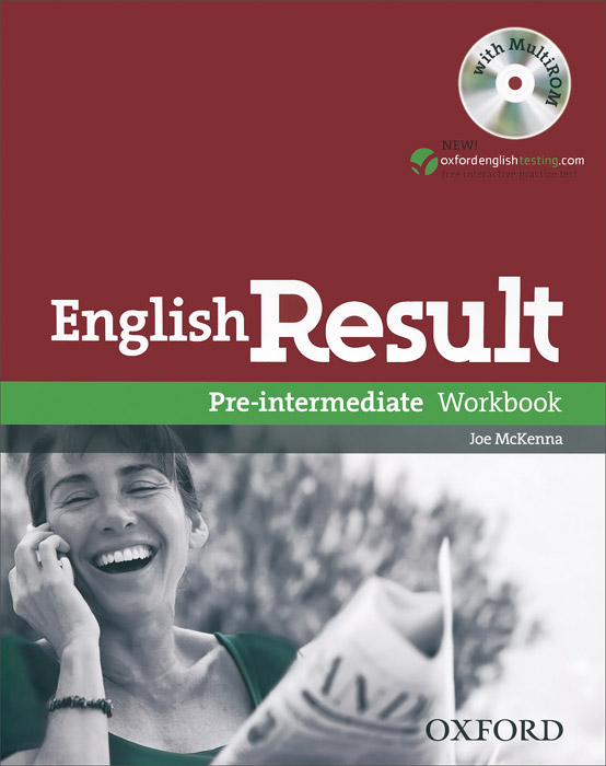 English Result Pre-intermediate: Workbook (+ CD-ROM) roberts rachael sayer mike insight pre intermediate workbook