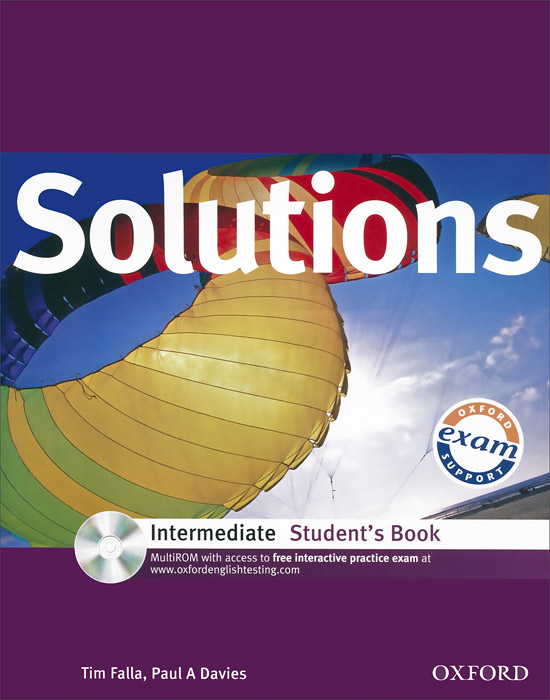Solutions: Intermediate: Student's Book (+ CD-ROM) mackie g link intermediate wook book