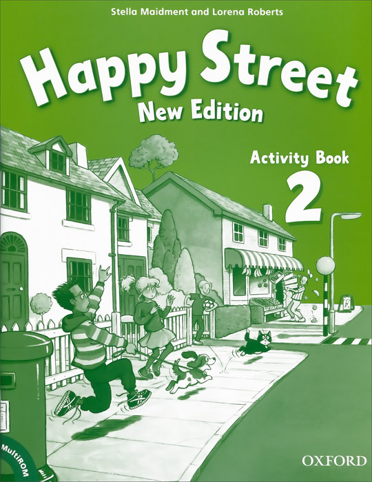 Happy Street 2: Activity Book (+ CD-ROM) merry team 6 activity book audio cd