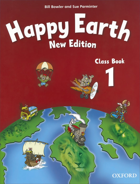Happy Earth 1: Class Book happy earth 1 activity book cd rom