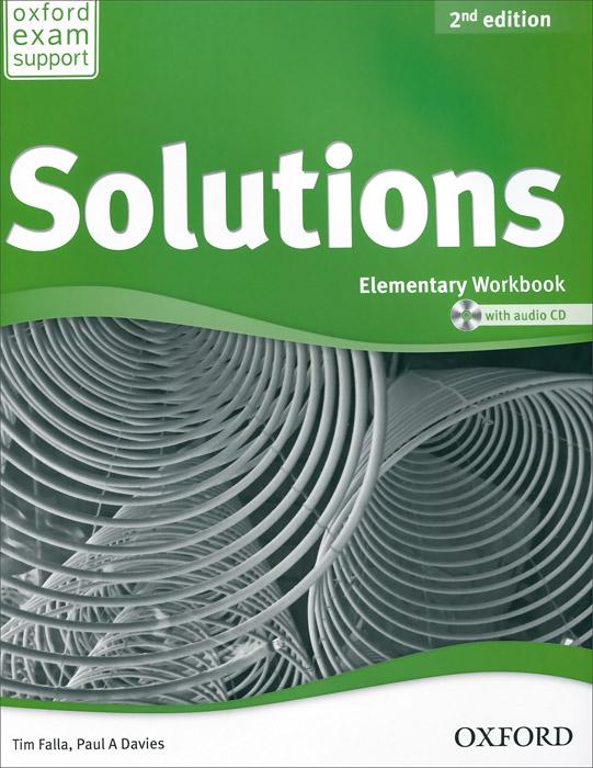 Solutions: Elementary: Workbook (+ CD-ROM) год до школы от а до я тетрадь по подготовке к школе