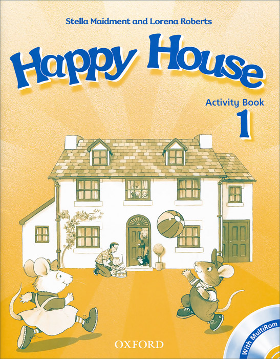 Happy House: Activity Book Level 1 (+ CD-ROM) merry team 6 activity book audio cd