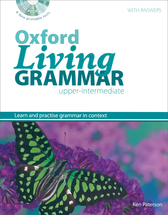 Oxford Living Grammar: Upper-Intermediate (+ CD-ROM) моана dvd
