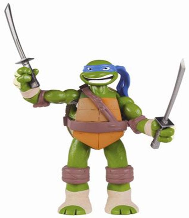Фигурка Turtles Леонардо, озвученная, 15 см игровые фигурки turtles фигурка черепашки ниндзя леонардо dojo 28 см