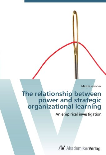 The relationship between power and strategic organizational learning: An empirical investigation bix f9 advanced cervical change and the relationship of the birth canal model mq180