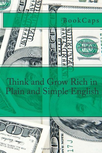 Think and Grow Rich in Plain and Simple English xml in plain english