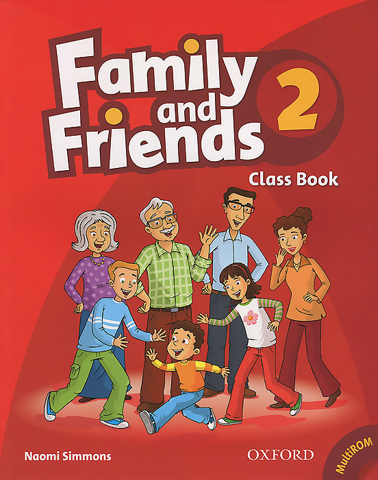 Family and Friends 2: Class Book (+ CD-ROM) family and friends class book level 3 cd rom