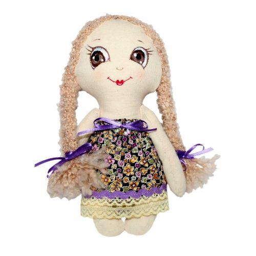 Набор для изготовления текстильной игрушки Лерочка, высота 22 см игрушки лол куклы цена