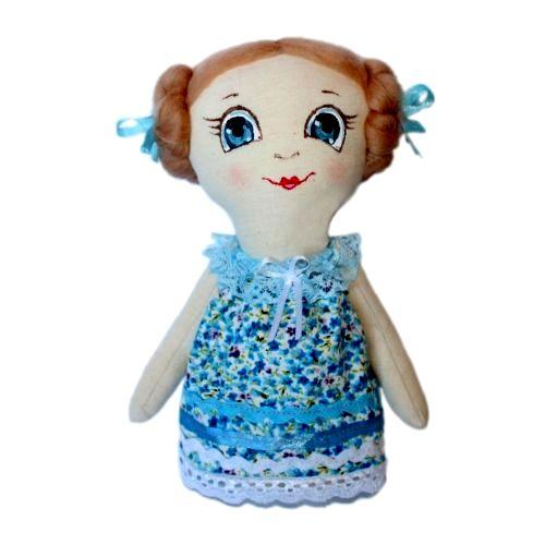 Набор для изготовления текстильной игрушки Леночка, высота 22 см игрушки лол куклы цена