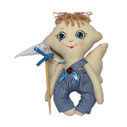 Набор для изготовления текстильной игрушки Сережка, высота 22 см игрушки лол куклы цена