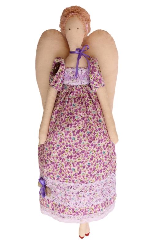 Набор для изготовления текстильной игрушки Ангелина, высота 42 см игрушки лол куклы цена