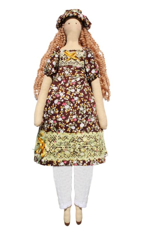 Набор для изготовления текстильной игрушки Наталья, высота 42 см игрушки лол куклы цена