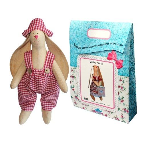 Подарочный набор для изготовления текстильной игрушки Зайка Тимошка, 29 см подарочный набор для изготовления текстильной игрушки зайка агата 29 см