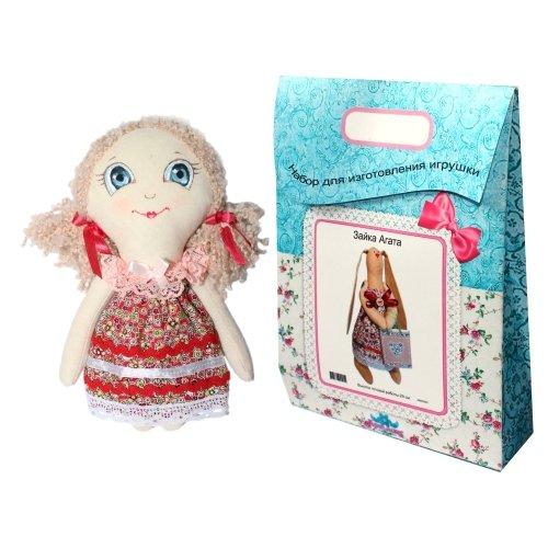 Подарочный набор для изготовления текстильной игрушки Анечка, 22 см игрушки лол куклы цена