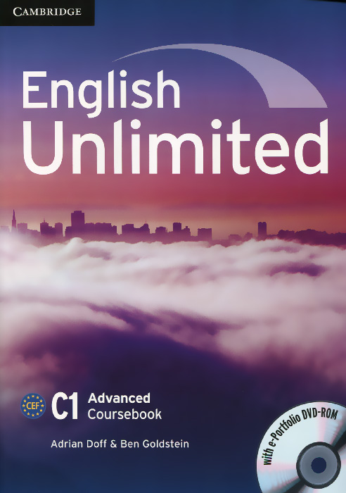 English Unlimited: Advanced: Coursebook (+ DVD-ROM) cambridge english empower advanced student s book c1