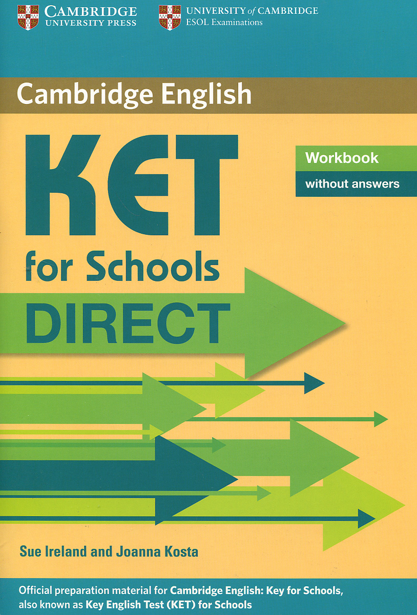 KET for Schools Direct Workbook without Answers objective first 4 edition workbook without answers сd