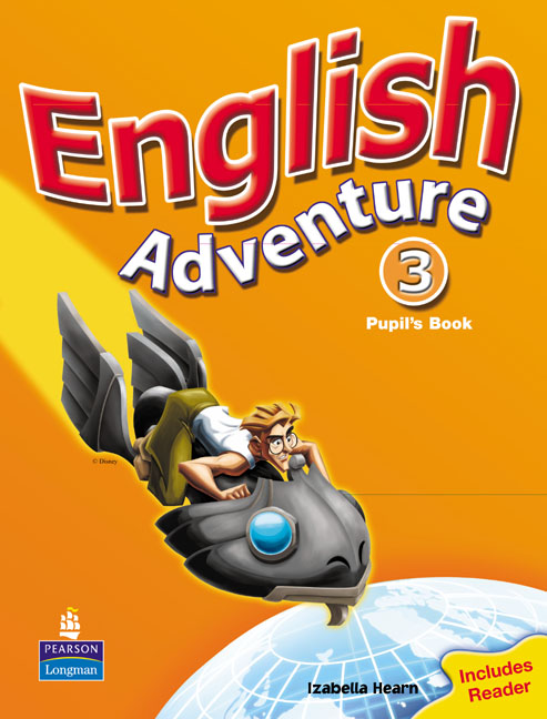 English Adventure: Level 3: Pupil's Book: Reader giant avail 2 disc 2016