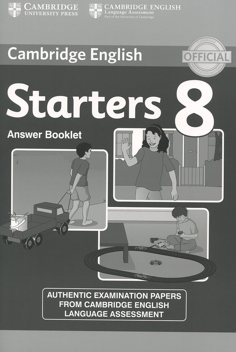 Cambridge Starters 8: Answer Booklet cambridge essential english dictionary second edition