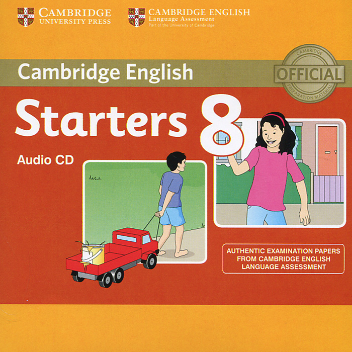 Cambridge English 8: Starters (аудиокурс на CD) cambridge english young learners 9 flyers student s book authentic examination papers from cambridge english language assessme
