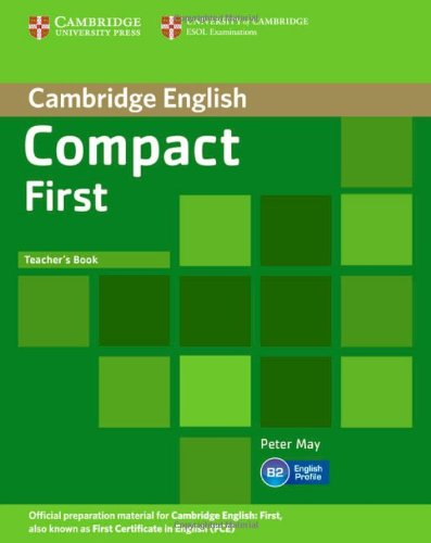 Compact First Teacher's Book greenwell j first numbers sticker book