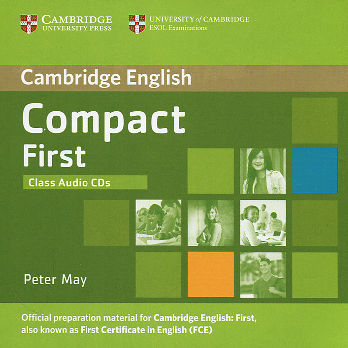 Compact First (аудиокурс на 2 CD) first english words cd