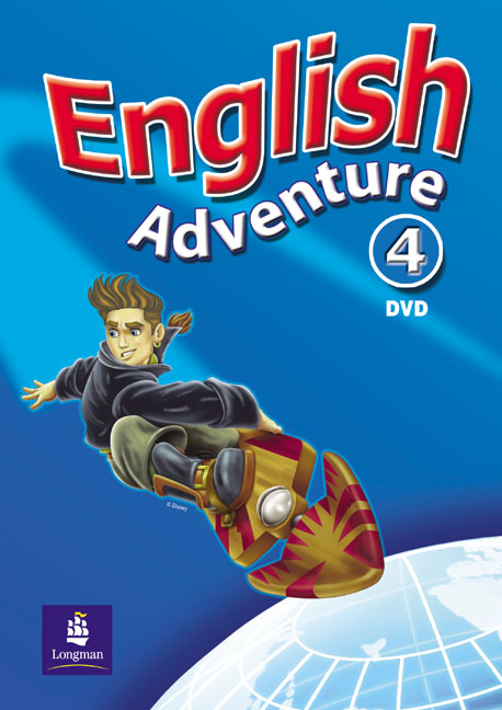 English Adventure Level 4 DVD tamrac adventure zoom 4 черный красный