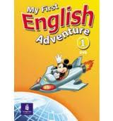 My First English Adventure Level 1 DVD my first book about food