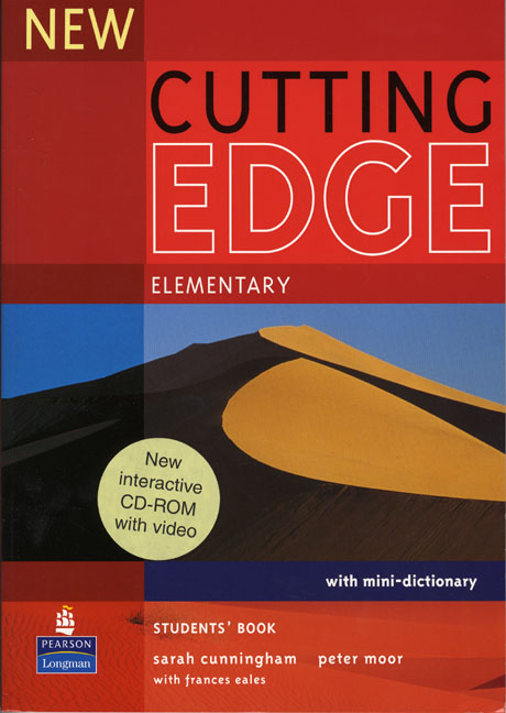 New Cutting Edge: Elementary: Student's Book (+ Mini-Dictionary and CD-ROM) cunningham s new cutting edge intermediate students book cd rom with video mini dictionary