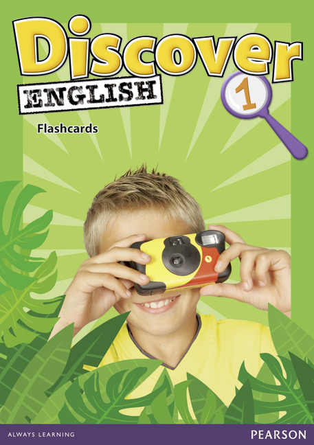 Discover English: Level 1: Flashcards (набор из 40 карточек) cambridge young learners english flyers 5 answer booklet
