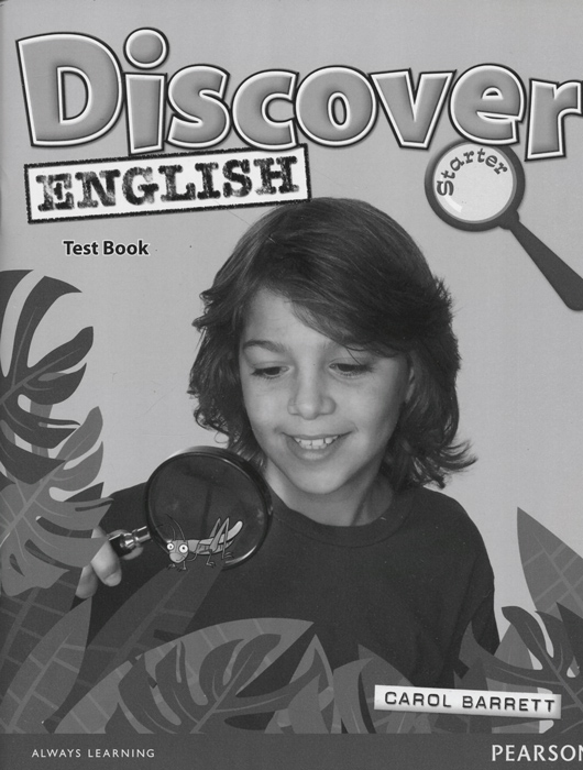 Discover English: Stater: Test Book english with crosswords 3 dvdrom
