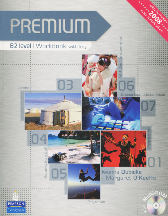 Premium: Level B2: Workbook with Key (CD-ROM) new total english intermediate workbook with key cd
