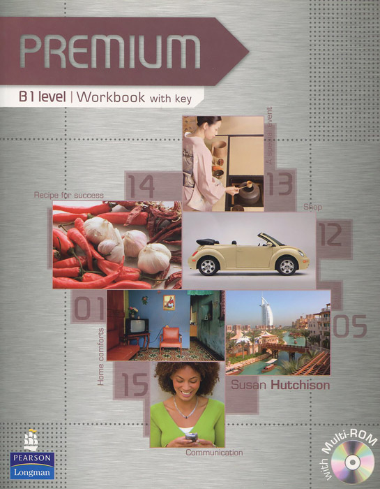 Premium B1: Workbook with Key (+ 2 CD-ROM) global elementary coursebook with eworkbook pack