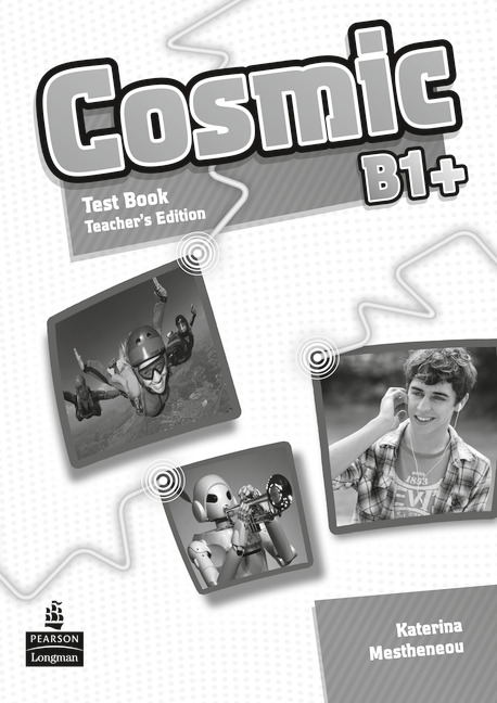 Cosmic Level B1+ Test Book TG парктроник parkmaster vss 4r 01 b1