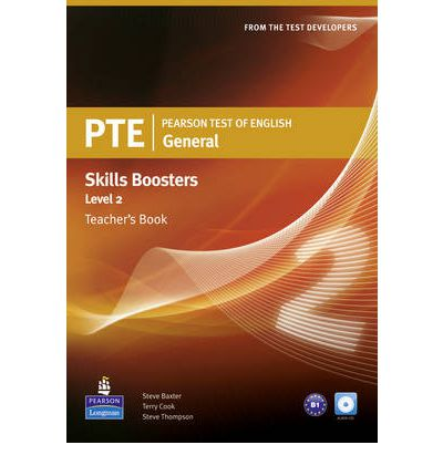 PTE General Skills Booster Level 2 Teacher's Book & Audio CD Pack global elementary teacher's book resource cd pack
