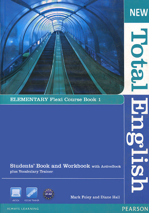 New Total English: Elementary: Flexi Course Book 1: Students' Book and Workbook with ActiveBook plus Vocabulary Trainer (+ DVD-ROM)