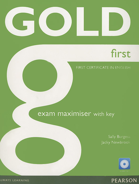Gold First: Exam Maximiser with Key (+ CD) first english words cd